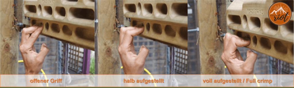 Hangboard Verletzung