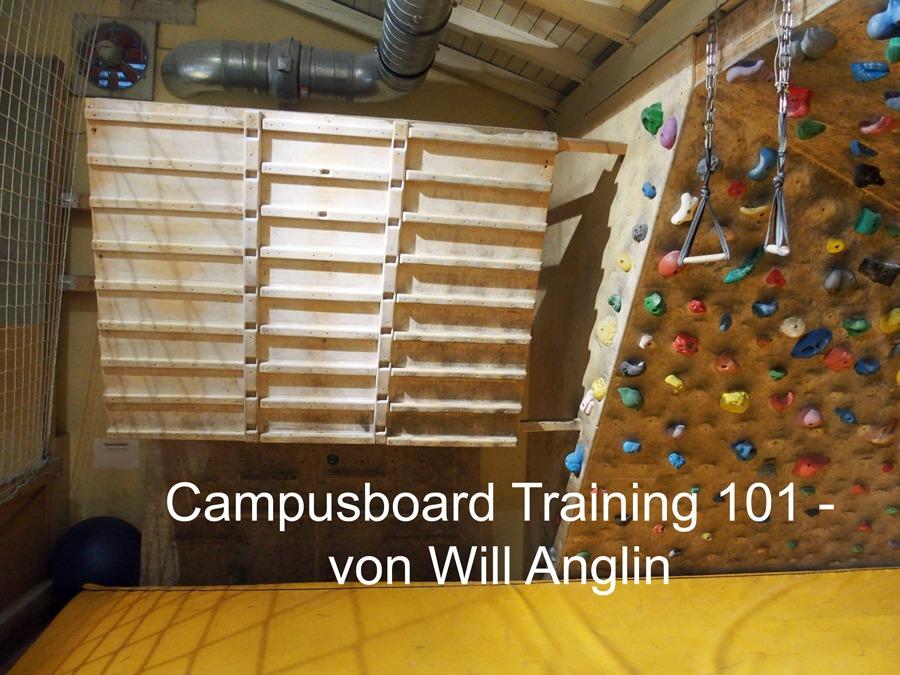 Training am Campusboard