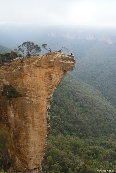 Wandern und KIettern in den Blue Mountains