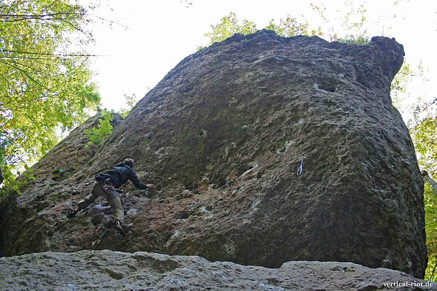 Klettern in Franken