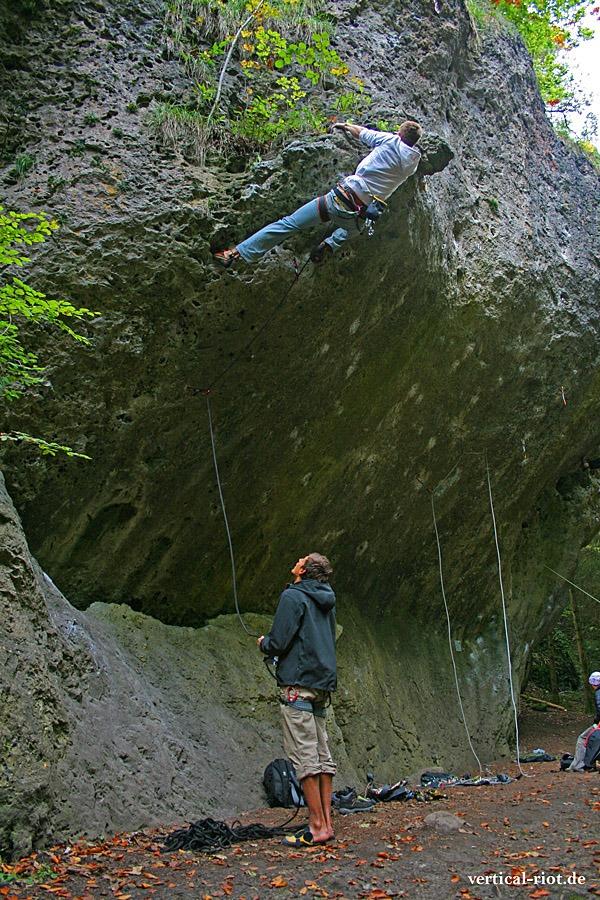 Fränkische Schweiz Klettern